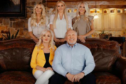 Charlotte Hopkins's ex Terry Bradshaw family