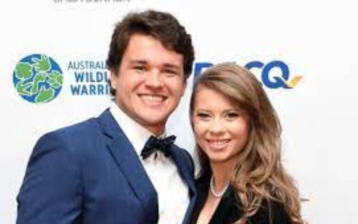Bindi Irwin welcomes baby girl Grace Warrior.