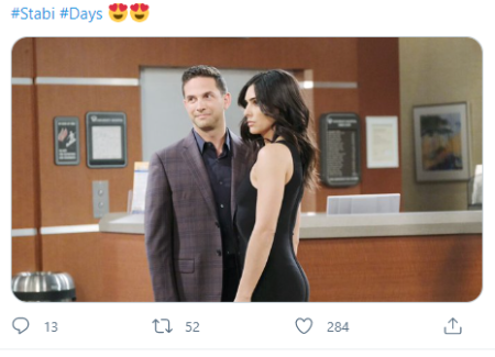 Camila Banus plays love interest of Stefan in Days of Our Lives.