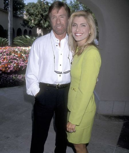 Chuck Norris is 23 years younger than her husband,