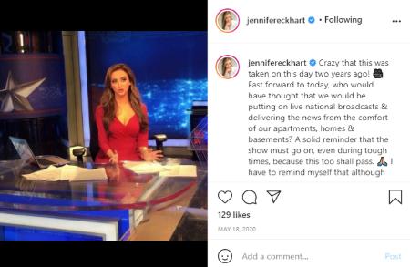Jennifer Eckhart makes millions from her job as news reporter.