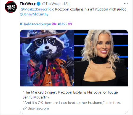 Jenny McCarthy happens to be a judge on The Masked Singer season 5.