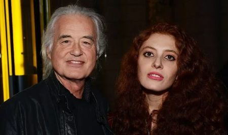 Jimmy Page started dating Scarlet after divorce from Jimena.