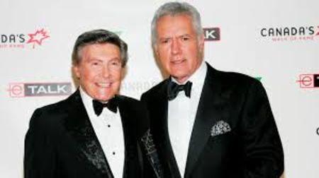 Johnny Gilbert and Alex Trebek were good friends.