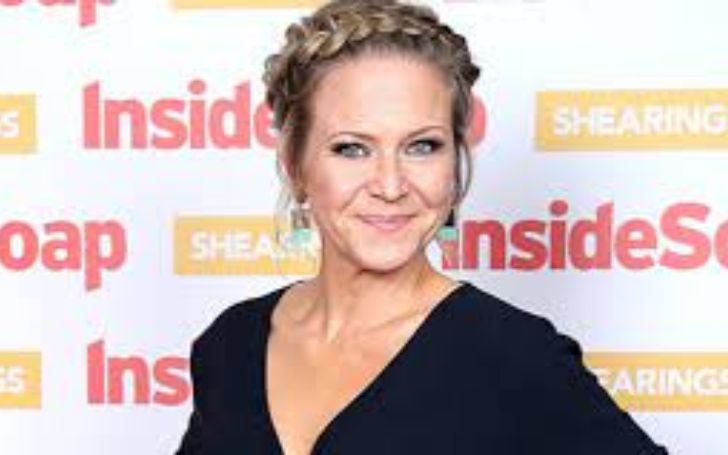 Kellie Bright is pregnant with husband Paul Stocker.