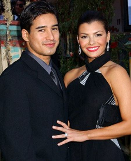 Mario Lopez cheated his partner during bachelor party.