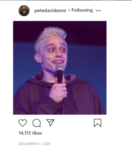 Pete Davidson served many years as a comedian.