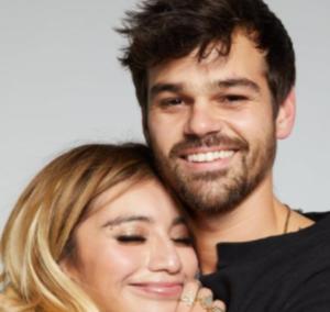 Kirstin Maldonado and her boyfriend Ben Hausdorff