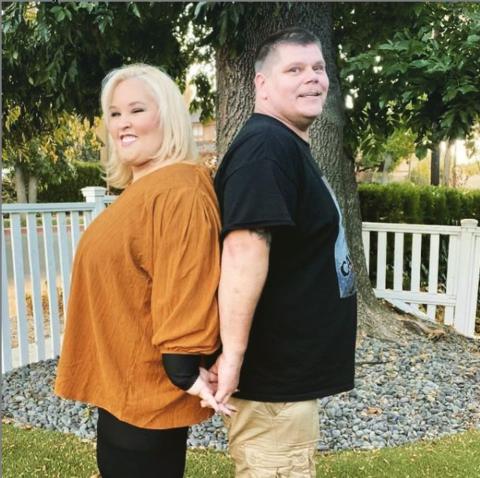 Mama June and her boyfriend Geno Doak.