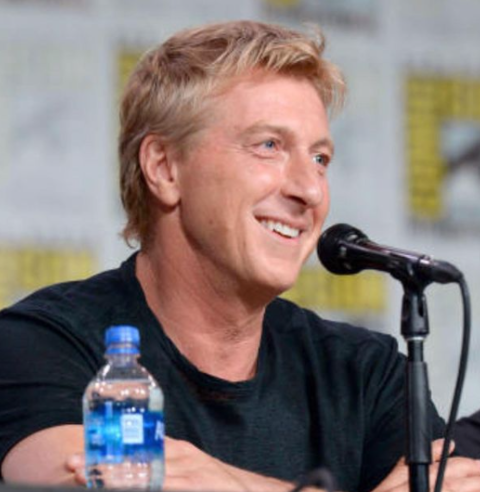 William Zabka is an American actor from The Karate Kid