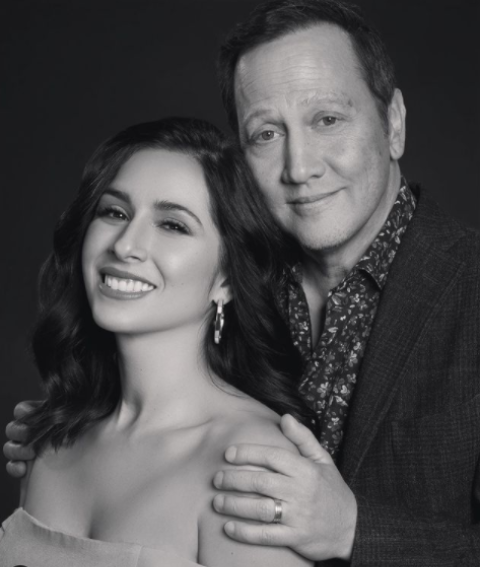 Patricia Azarcoya Schneider and husband Rob Schneider