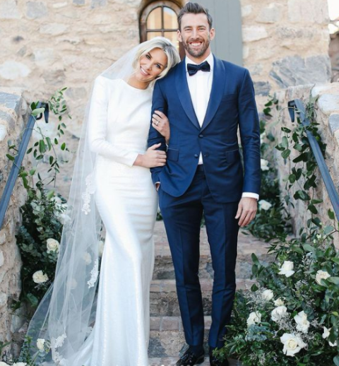 Kyle Thousand and his wife Charissa Thompson
