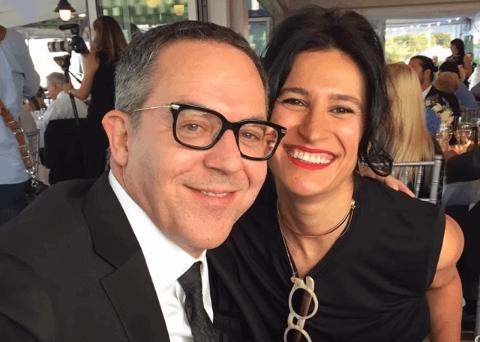 Elena Moussa and her husband Greg Gutfeld