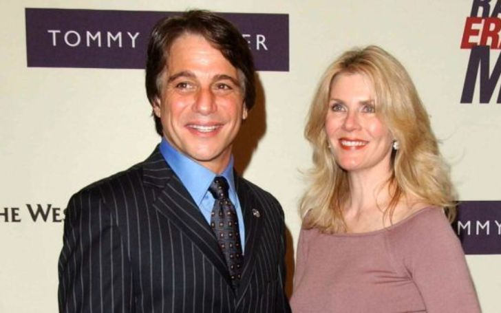 Tony Danza was married to Rhonda Yeoman for four years.