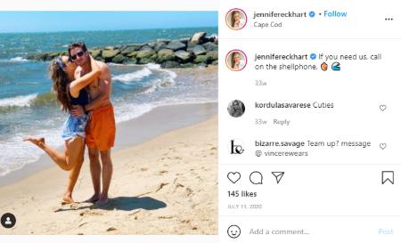 Jennifer Eckhart has never been married.