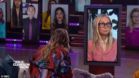 Gwyneth Paltrow appeared on The Kelly Clarkson Show for a candid talk.