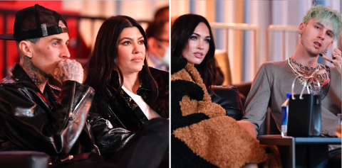 Kourtney Kardashian and Travis Barker Spotted in A Double Date With Megan Fox and MGK