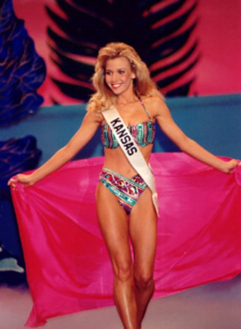 Tavia Shackles during a pageant