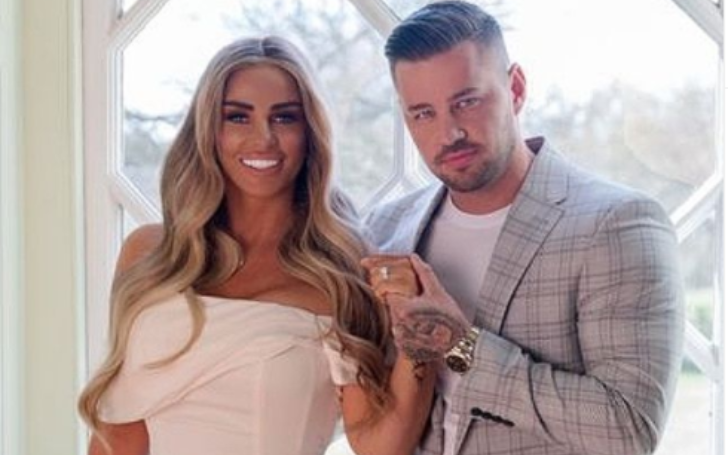 Katie Price and Carl Woods dated ten months before engagement.