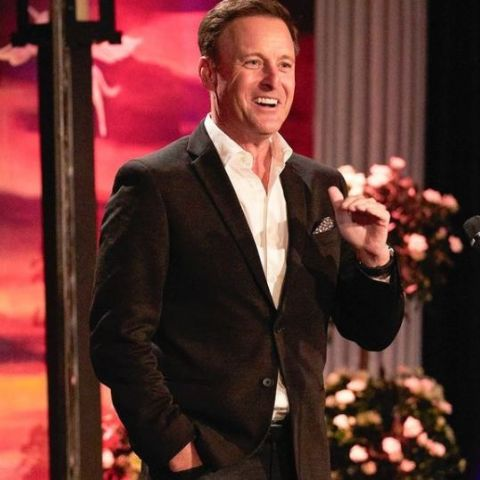 Chris Harrison on his show.