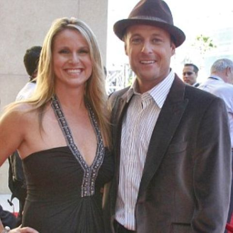 Chris Harrison with his ex wife.