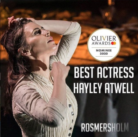 Hayley Atwell received multiple prestigious awards for her role in films.