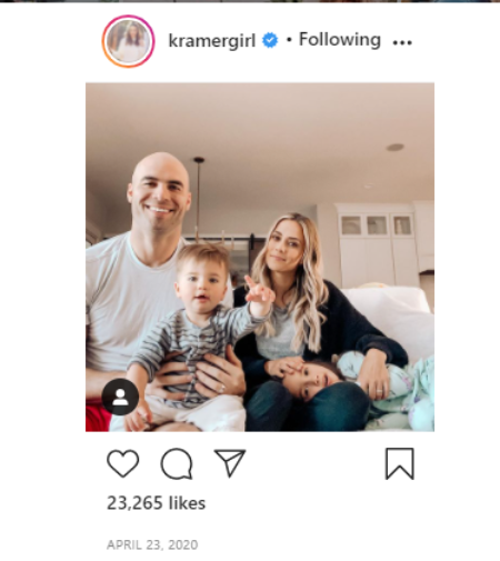 Jana Kramer is raising two children with his wife Mike Caussin.