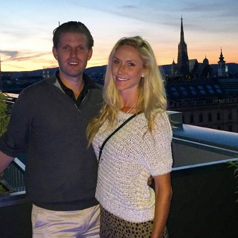 Robert Luke Yunaska's daughter and son in law married in his Mar-a-Lago law's estate in Palm Beach, Florida.