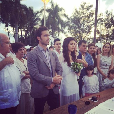 Mauro Lyle parents tied the knot on December 27, 2014
