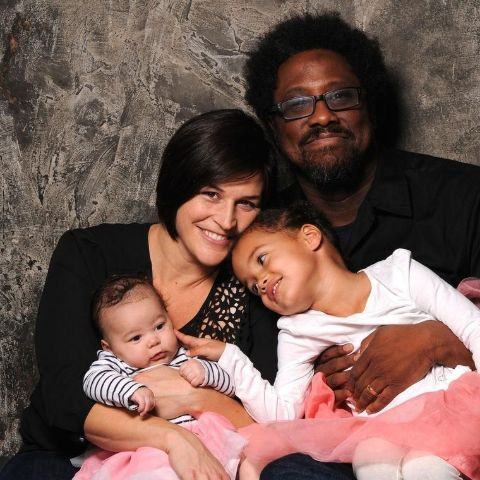 Melissa Hudson Bell with her family.